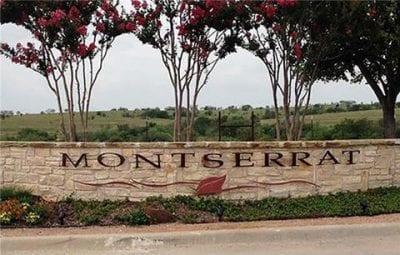 Montserrat West Fort Worth Estates