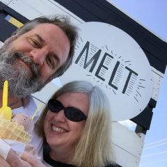 Tim & Donna YOUNG at MELT